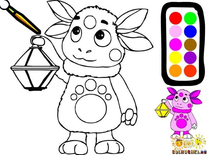 Игра для девочек 4-5 лет бесплатно раскраски