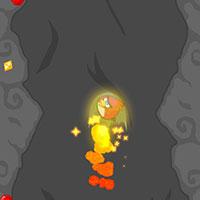 Гра Класні Пташки в печері - грати безкоштовно онлайн!