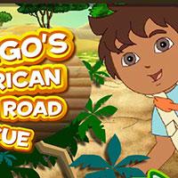 Гра Пригоди Дієго в Африці