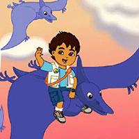 Гра Дієго рятує динозаврів