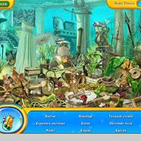 Гра Пошук предметів: Акваріум!