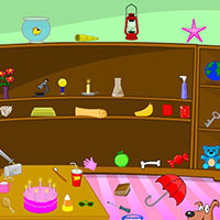 Гра Пошук предметів: Розгром у кімнаті