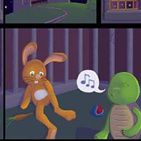 Гра Пошук предметів: Комікс про звірів!