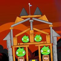 Гра Вулканий Angry Birds