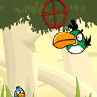Гра Angry Birds: Стрільба по пташкам