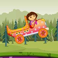Гра Даша Слідопит перевозить цукерки