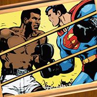 Гра Супермен: Бокс Пазл!