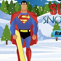 Гра Супермен на сноуборді: зимова пригода!