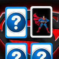 Гра Подвійні картки Супермена - краще тренування пам'яті!