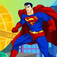 Гра Одягни Супермена: створи імідж супергерою!