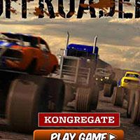 Гра Гонки на джипах по грязьовий трасі: грай безкоштовно онлайн!