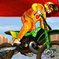 Гра Гонки на мотоциклах по каньйону: грай безкоштовно онлайн!
