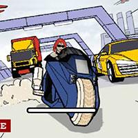 Гра Гонки на мотоциклі зі стріляниною: ганяй безкоштовно онлайн!