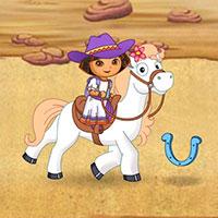 Гра Даша Слідопит: Прогулянка на поні!!