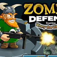 Гра Вікінги захищаються від зомбі: грай безкоштовно онлайн!!