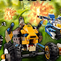 Гра Лего гонки Чима: грай безкоштовно онлайн!!
