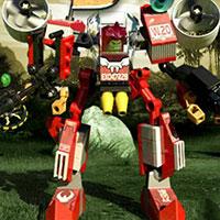 Гра Лего: Бої роботів в джунглях!!
