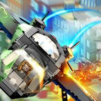 Гра Лего месники керують літаком: грай безкоштовно онлайн!