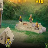 Гра Лего: Пошук динозаврів!!