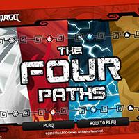 Гра Лего Ніндзя Го: Чотири випробування!!