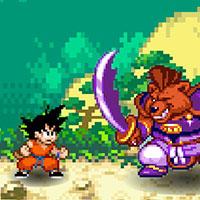 Гра ДрагонБол: Бійка з кабанами!!
