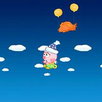 Гра Смішарики 2 - Нюша в зоряному небі