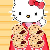 Гра Готуємо їжу: Кексики від Хелло Кітті!
