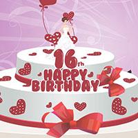 Гра Готуємо торт на 16 років: грай безкоштовно онлайн!