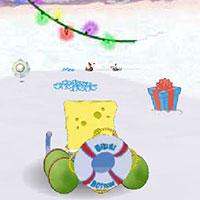 Гра Спанч Боб 3д - Снігові гонки