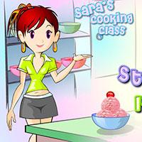 Гра Готуємо полуничне морозиво: грай безкоштовно онлайн!
