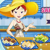 Гра Готуємо їжу з Сарою: грай безкоштовно онлайн!