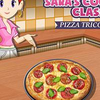 Гра готуємо їжу: м'ясна піца!