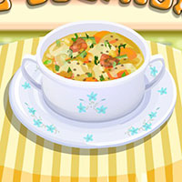 Гра Готуємо вегетаріанський суп: вчимося готувати онлайн!