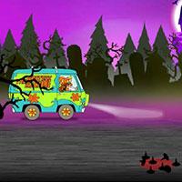 Гра Скубі Ду наздоганяє примарний автомобіль