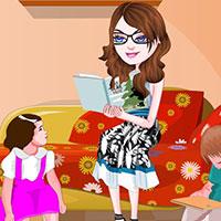 Гра Догляд за малюками: наряди няню