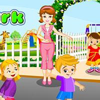 Гра Догляд за малюками в парку