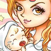 Гра Догляд за малюком його мамою