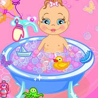 Гра Догляд за малюком: Купання