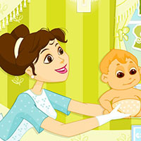 Гра Догляд за малюками в 60-их