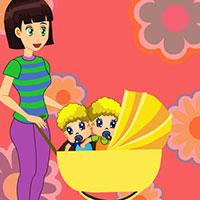 Гра Догляд за малюками: Неслухняні близнюки