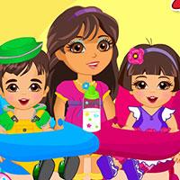 Гра Догляд за малюками-двійнятами