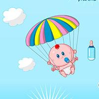 Гра Догляд за малюками-парашутистами