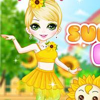 Гра для дівчаток: Квіткова казка