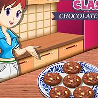 Гра для дівчаток: Робимо шоколадне печиво