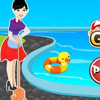 Гра Прибирання басейну: грай безкоштовно онлайн!