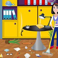 Гра Прибирання в офісі після вечірки: грай безкоштовно онлайн!