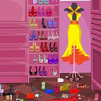 Гра Прибирання в гардеробі: грай безкоштовно онлайн!