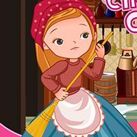 Гра Попелюшка прибирає замок: грай безкоштовно онлайн!