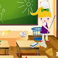 Гра Прибирання в школі: грай безкоштовно онлайн!