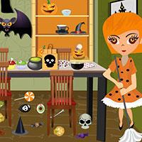 Гра Прибирання після Хеллоуїна: грай безкоштовно онлайн!